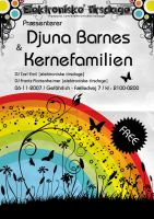 Djuna flyer by loonyworld