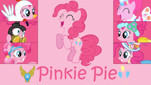 Pinkie Pie Wallpaper by Eelan92