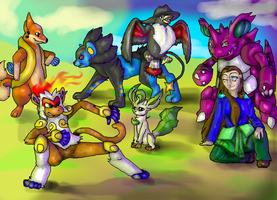 My Pokemon Diamond Team -Updated- by TheDragonInTheCenter