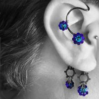 Heliotrope Industrial Ear Wrap v7- SOLD by YouniquelyChic