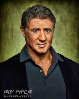 Sylvester Stallone: Anisotropic Filter Re-Edit by nerdboy69