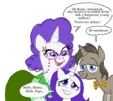 Rarity's parents by shuffle001