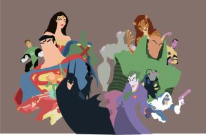 Superfriends - WIP by AndrewJHarmon