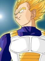 vegeta super saiyan by fear229