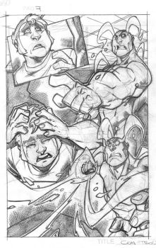 Con-troll #1 Page 7 pencils by dtoro