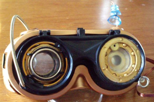 Steampunk Goggles by OneWeeb