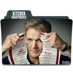 Kitchen Nightmare's TV Series Icon by SharatJ