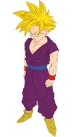 Gohan Vector PNG Extraction by TattyDesigns