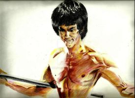 Bruce lee by parag457