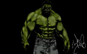 Hulk by thecrow1299
