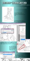 Tutorial: Coloring Sketches by klinanime