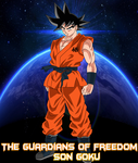 TGoF Poster 3: Son Goku by WOLFBLADE111