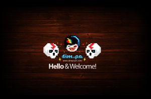 Welcome by dimpoart