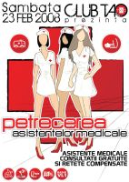 flyer Club TAO - Nurses Party by semaca2005