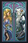 Lady Death Zodiac Gemini rare by ToolKitten