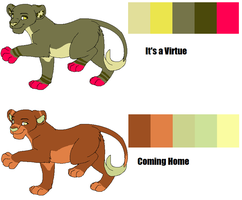 Lion Palette Auctions by Guineapigwuv