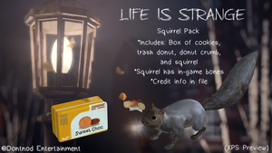 LiS - Squirrel Pack by angelic-noir