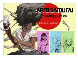 Afro Samurai movie poster by TylerChampion