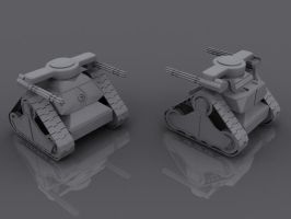 3D Work - Vehicles7 by tomkpunkt