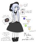 Maka the Marble Witch by Guusagi