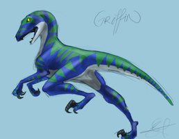teh raptorrr by shelzie