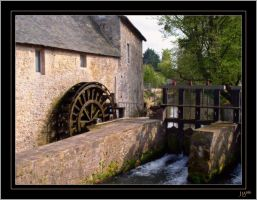 A mill in Bayeux by J-Y-M
