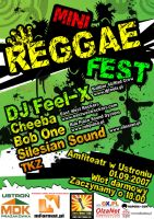 reggae fest poster by qbsster