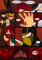 Mortal Kombat Issue #1 Page 23 by MarcusSmiter
