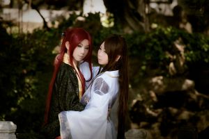 Chinese Ancient Costume Yaoi Cosplay by jiaanxu