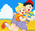 [Mother]: Ness and Lucas by AsuharaMoon