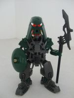 Harsh, Le-Matoran by Pahrak-Kal