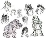 Redwall Sketchdump the Second by Professor-R