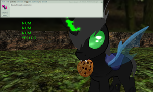 ask scythwing Cookies by darkcrill