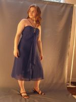 Blue Party Dress by RLDStock