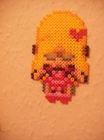 Princess Cherry perler by Llama-lady