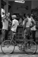 Bar and Bicycle by Talkingdrum