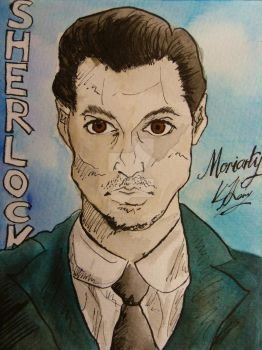 Moriarty by kate-harvey-art
