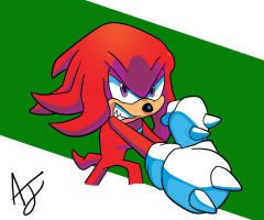 Knuckles Bust by DredgeTH