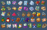 Icons for game 19 by Kifir