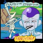 Before Frieza ran in terror by mightyfilm