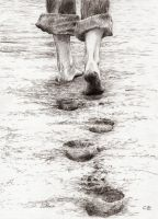 Footsteps by delph-ambi