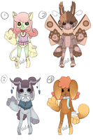 Anthro batch 1 [closed] by BroodyAdopts