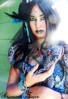Snake Goddess by AlphashewolfFX