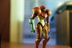 Samus Aran (35mm Film Test) by Typical-Mental
