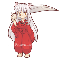 Inuyasha sticker by LaGomita
