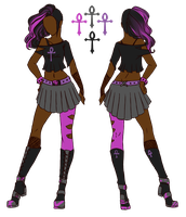 Obsidian Scones Female Dress Code by RawrSexyKitty