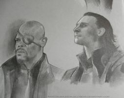 The Avengers (WIP) Sketch Detail by Bubblegum-Jellybean