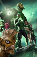 GREEN_LANTERN by earache-J