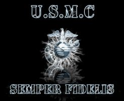 USMC Wallpaper by Chrippy