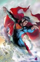 Superman 2013 Colors by hanzozuken